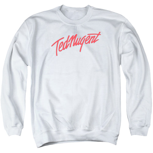 Ted Nugent Clean Logo Crewneck Band Sweatshirt