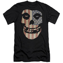 Load image into Gallery viewer, Misfits Fiend American Flag Premium Canvas Band T-Shirt