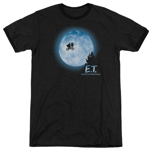 Et Moon Scene Heather Movie T-Shirt