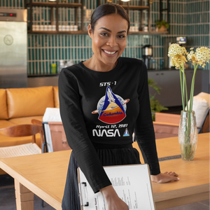 NASA Columbia First Launch Longsleeve