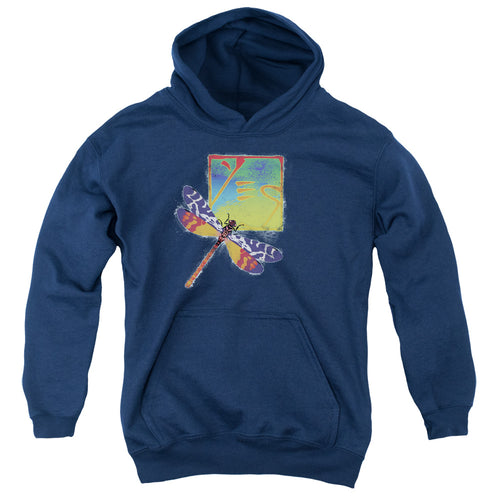Yes Dragonfly Teen Pullover Hoodie Band Sweatshirt