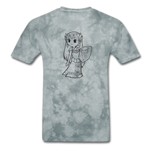 Load image into Gallery viewer, new shirt zelda - grey tie dye