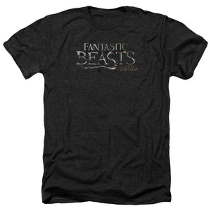 Fantastic Beasts Logo Heather Movie T-Shirt