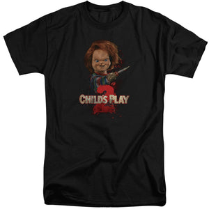 Childs Play 2 Heres Chucky Big & Tall Movie T-Shirt
