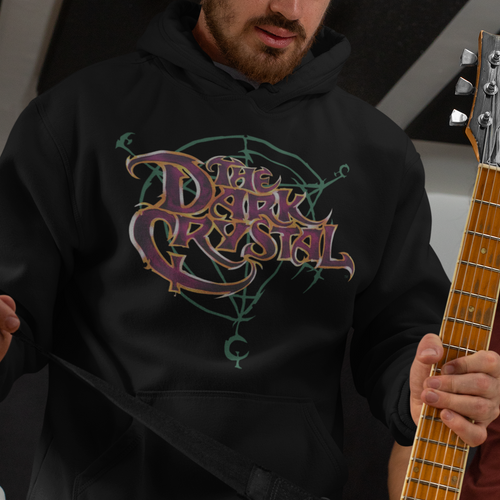 Dark Crystal Symbol Logo Pullover Hoodie  Movie Sweatshirt