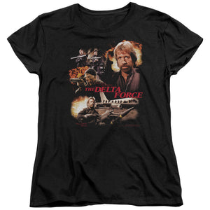 Delta Force Action Pack Women's Movie T-Shirt