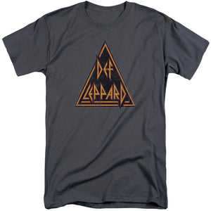 Def Leppard Distressed Logo Adult Band T-Shirt
