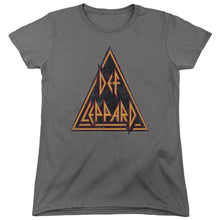 Load image into Gallery viewer, Def Leppard Distressed Logo Women's Band T-Shirt