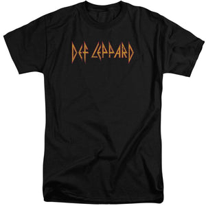 Def Leppard Horizontal Logo Big & Tall Band T-Shirt