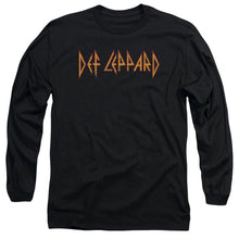 Load image into Gallery viewer, Def Leppard Horizontal Logo Long Sleeve Band T-Shirt
