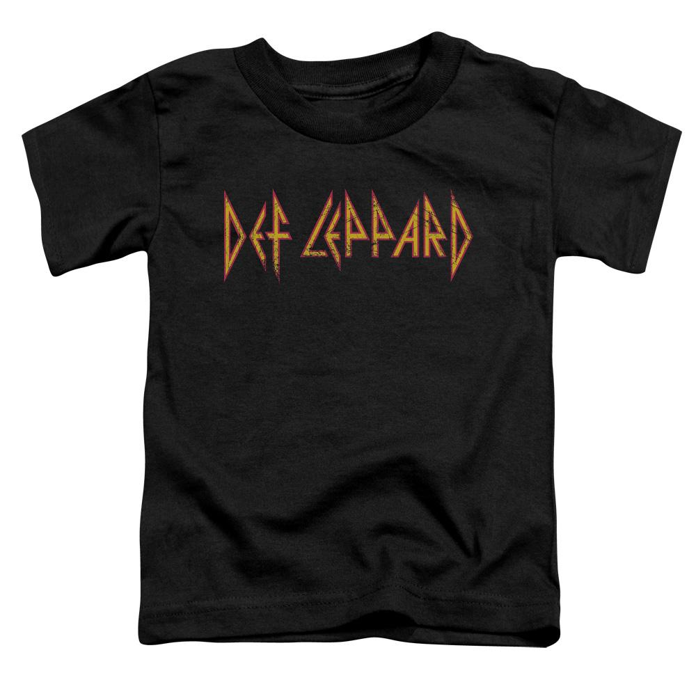 Def Leppard Horizontal Logo Toddler Band T-Shirt