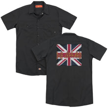 Load image into Gallery viewer, Def Leppard Union Jack (Back Print) Work Band T-Shirt