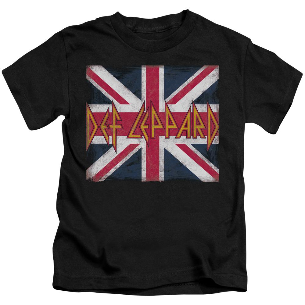 Def Leppard Union Jack Kids Band T-Shirt