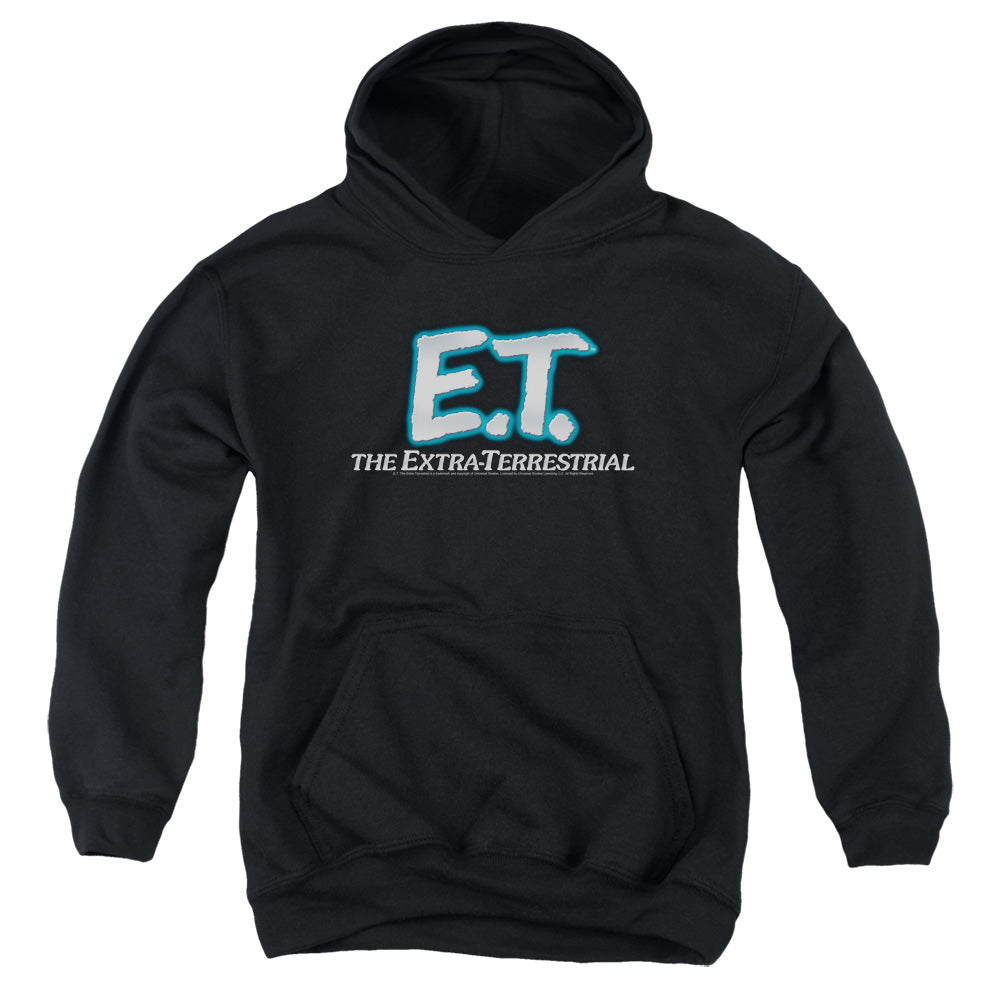 Et Logo Teen Pullover Hoodie  Movie Sweatshirt