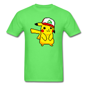new shirt poke - kiwi