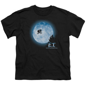 Et Moon Scene Teen Movie T-Shirt