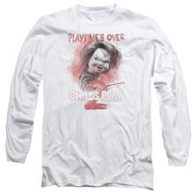 Load image into Gallery viewer, Childs Play 2 Playtimes Over Long Sleeve Movie T-Shirt