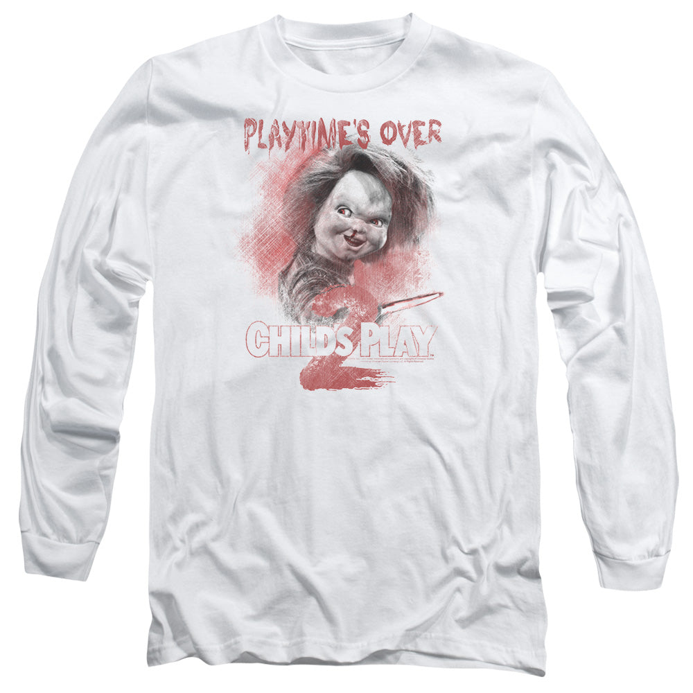 Childs Play 2 Playtimes Over Long Sleeve Movie T-Shirt