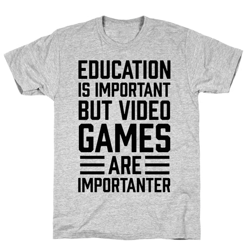 Education Video Game T-Shirt