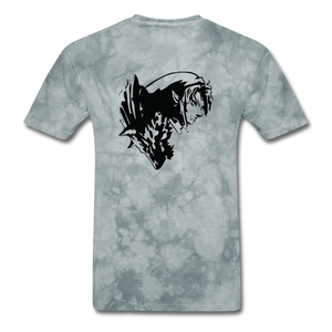 new shirt zelda 321 - grey tie dye