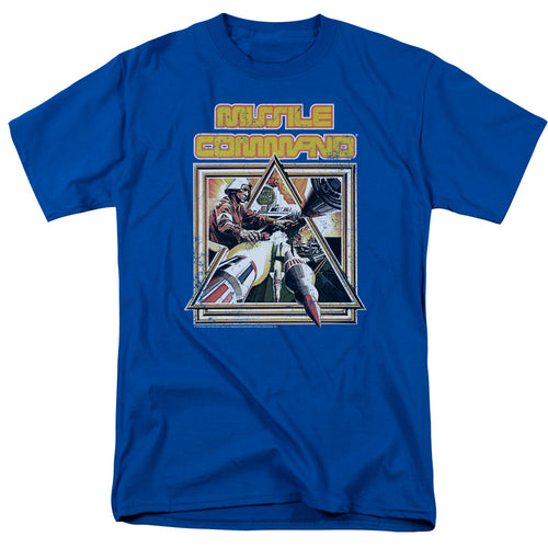 Atari Missile Command Triangle Video Game T-Shirt