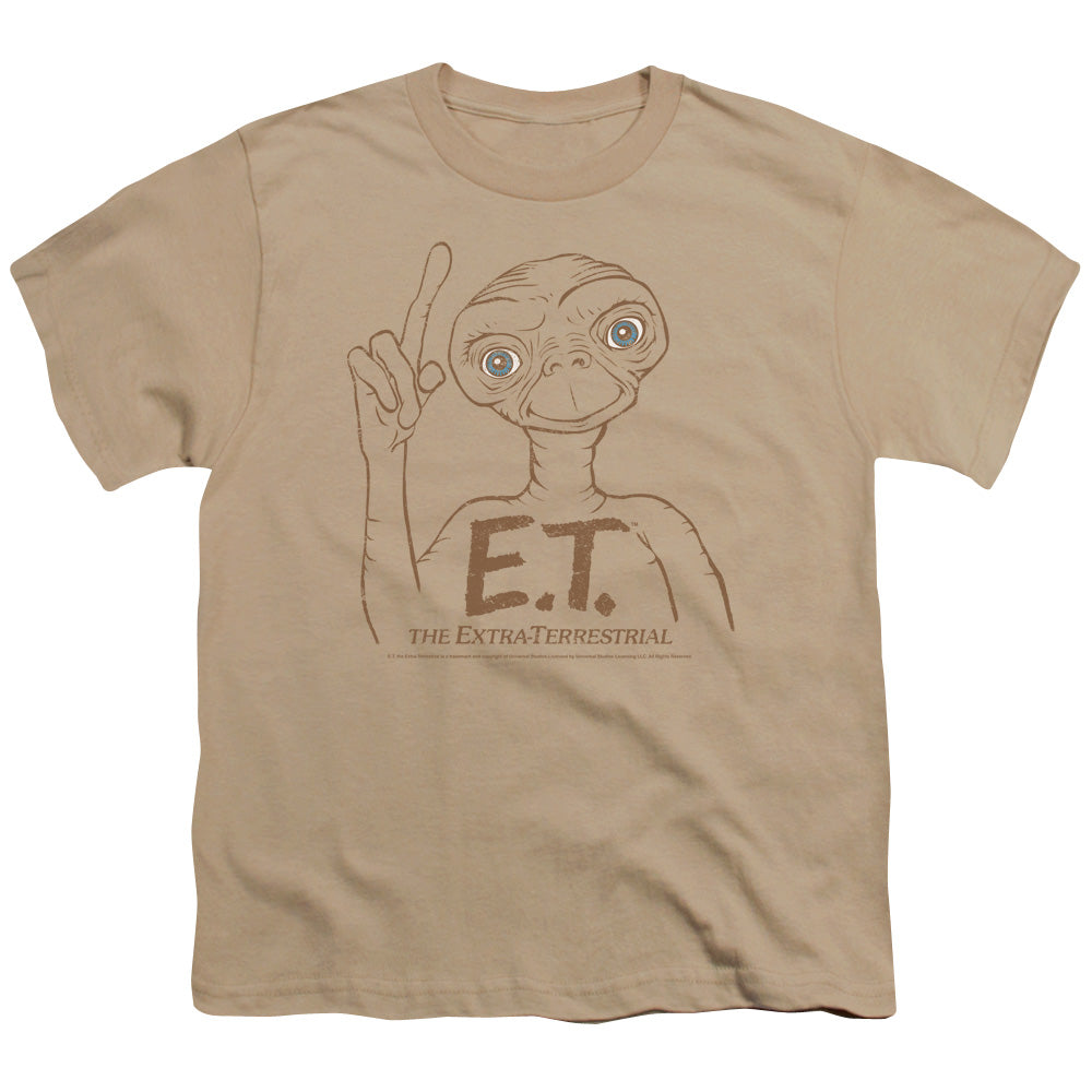 Et Pointing Teen Movie T-Shirt