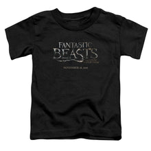 Load image into Gallery viewer, Fantastic Beasts Logo Toddler Movie T-Shirt