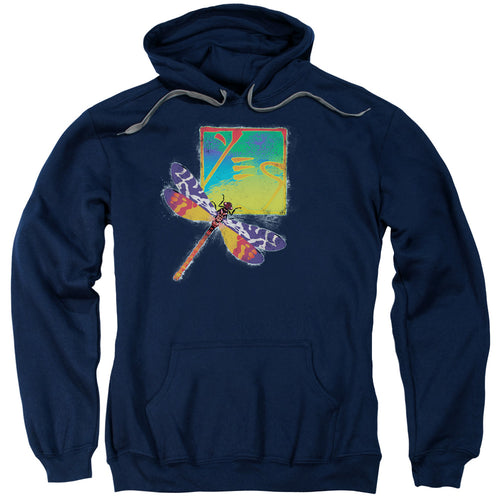 Yes Dragonfly Pullover Hoodie Band Sweatshirt