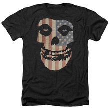 Load image into Gallery viewer, Misfits Fiend Flag Heather Band T-Shirt