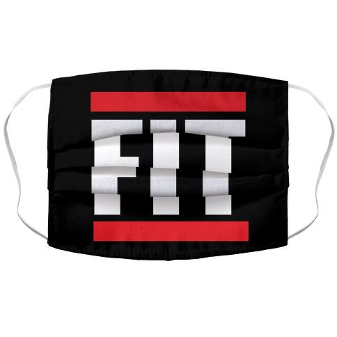 Fit Fabric Face Mask-Graphic Tees Store
