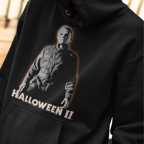 Halloween II Michael Myers Pullover Hoodie  Movie Sweatshirt