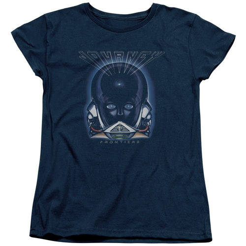 Journey Frontiers Cover Women's Band T-Shirt