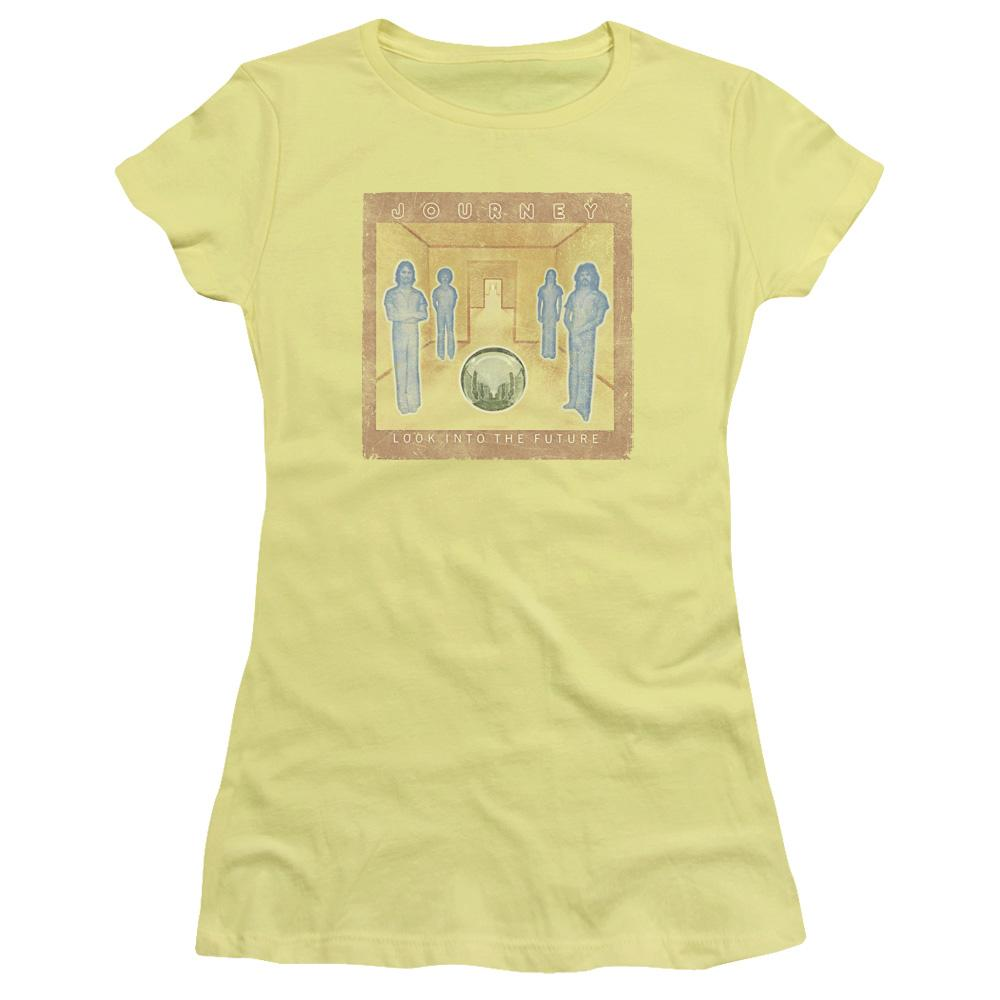 Journey Look Cover Junior Girls Sheer Band T-Shirt