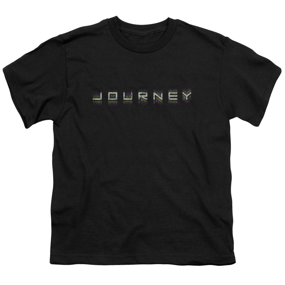 Journey Repeat Logo Teen Band T-Shirt