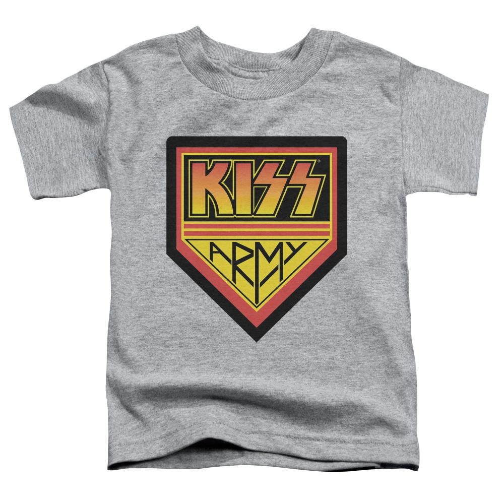 Kiss Army Logo Toddler Band T-Shirt