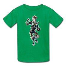 Load image into Gallery viewer, Kit Fortnite Kid's Video Game T-Shirt - kelly green