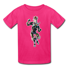 Load image into Gallery viewer, Kit Fortnite Kid's Video Game T-Shirt - fuchsia