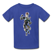 Load image into Gallery viewer, Kit Fortnite Kid's Video Game T-Shirt - royal blue