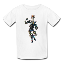 Load image into Gallery viewer, Kit Fortnite Kid's Video Game T-Shirt - white