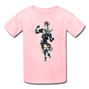 Kit Fortnite Kid's Video Game T-Shirt - pink