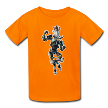 Load image into Gallery viewer, Kit Fortnite Kid's Video Game T-Shirt - orange