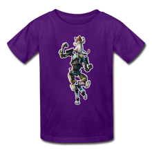 Load image into Gallery viewer, Kit Fortnite Kid's Video Game T-Shirt - purple