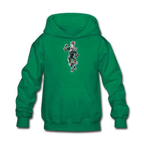 Kit Fortnite Kid's Hoodie Video Game Sweatshirt - kelly green