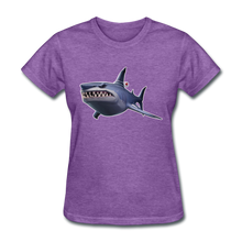 Load image into Gallery viewer, Loot Shark Fortnite Women's Video Game T-Shirt - purple heather