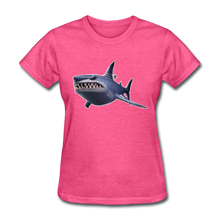 Load image into Gallery viewer, Loot Shark Fortnite Women's Video Game T-Shirt - heather pink