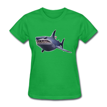 Load image into Gallery viewer, Loot Shark Fortnite Women's Video Game T-Shirt - bright green