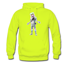 Load image into Gallery viewer, Marshmello Unisex Hoodie Fortnite Video Game Sweatshirt - safety green