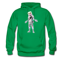 Load image into Gallery viewer, Marshmello Unisex Hoodie Fortnite Video Game Sweatshirt - kelly green
