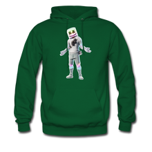 Load image into Gallery viewer, Marshmello Unisex Hoodie Fortnite Video Game Sweatshirt - forest green