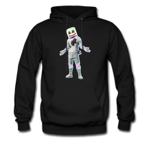 Load image into Gallery viewer, Marshmello Unisex Hoodie Fortnite Video Game Sweatshirt - black